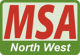 MSA North West logo